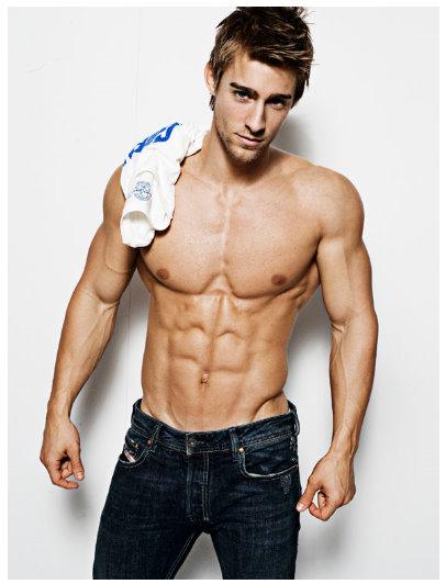 Fitness model Luke Guldan