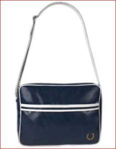 Fred Perry Blue Shoulder Bag